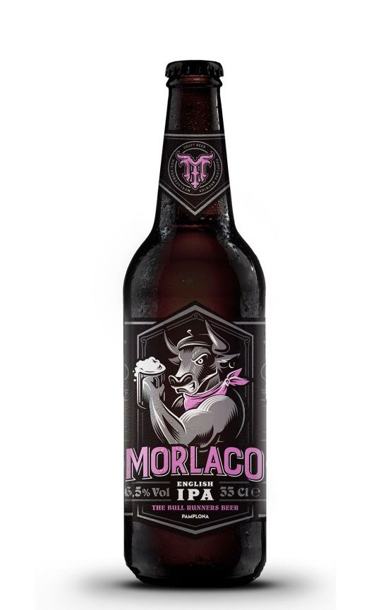 Cerveza Morlaco English IPA (Pack 12 botellines)