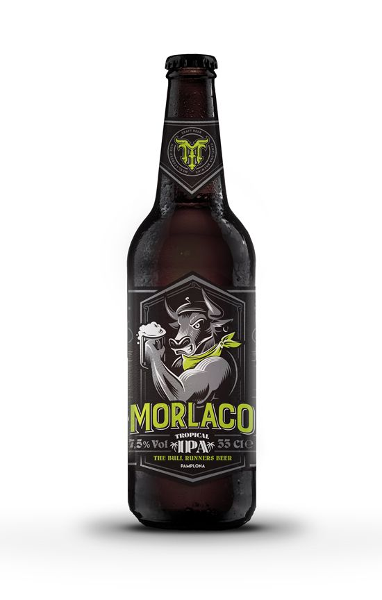 Cerveza Morlaco Tropical IPA (Pack 12 botellines)